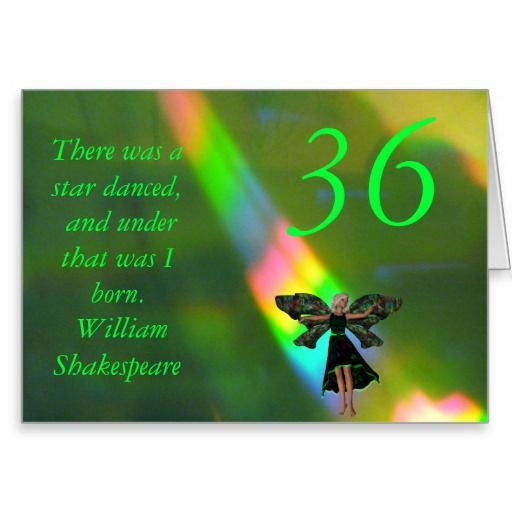36th Birthday Card | Zazzle.| IKR | 80th birthday cards, 90th