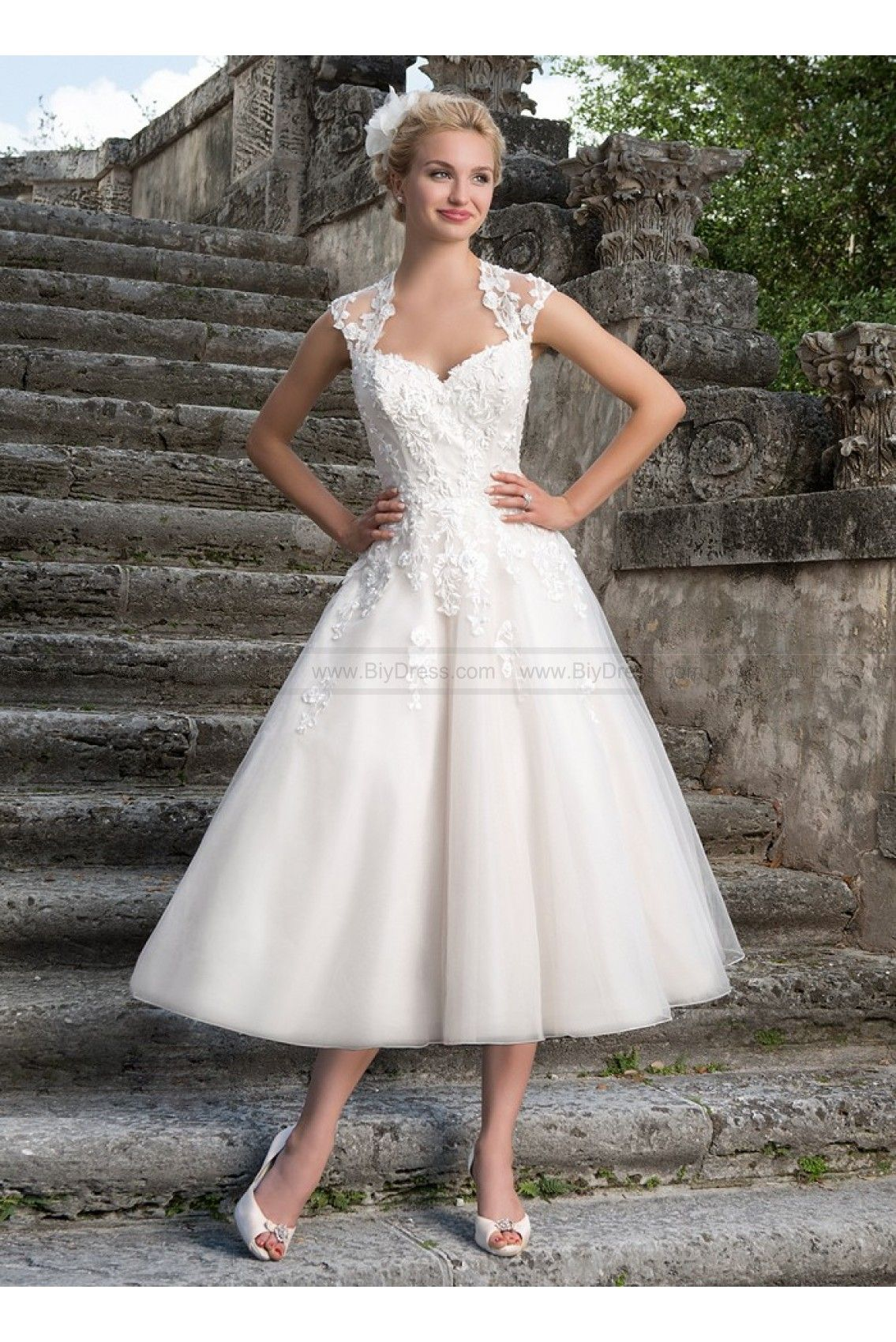 Sincerity Bridal Wedding Dresses Style 3875 1950s Inspired Tulle