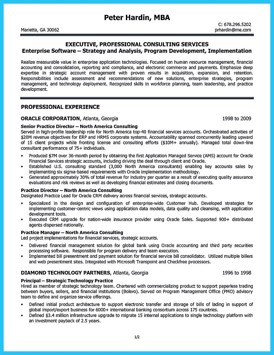 It Consultant Resume Examples Do You Want To Build The Best Business Consultant Resume Then You .