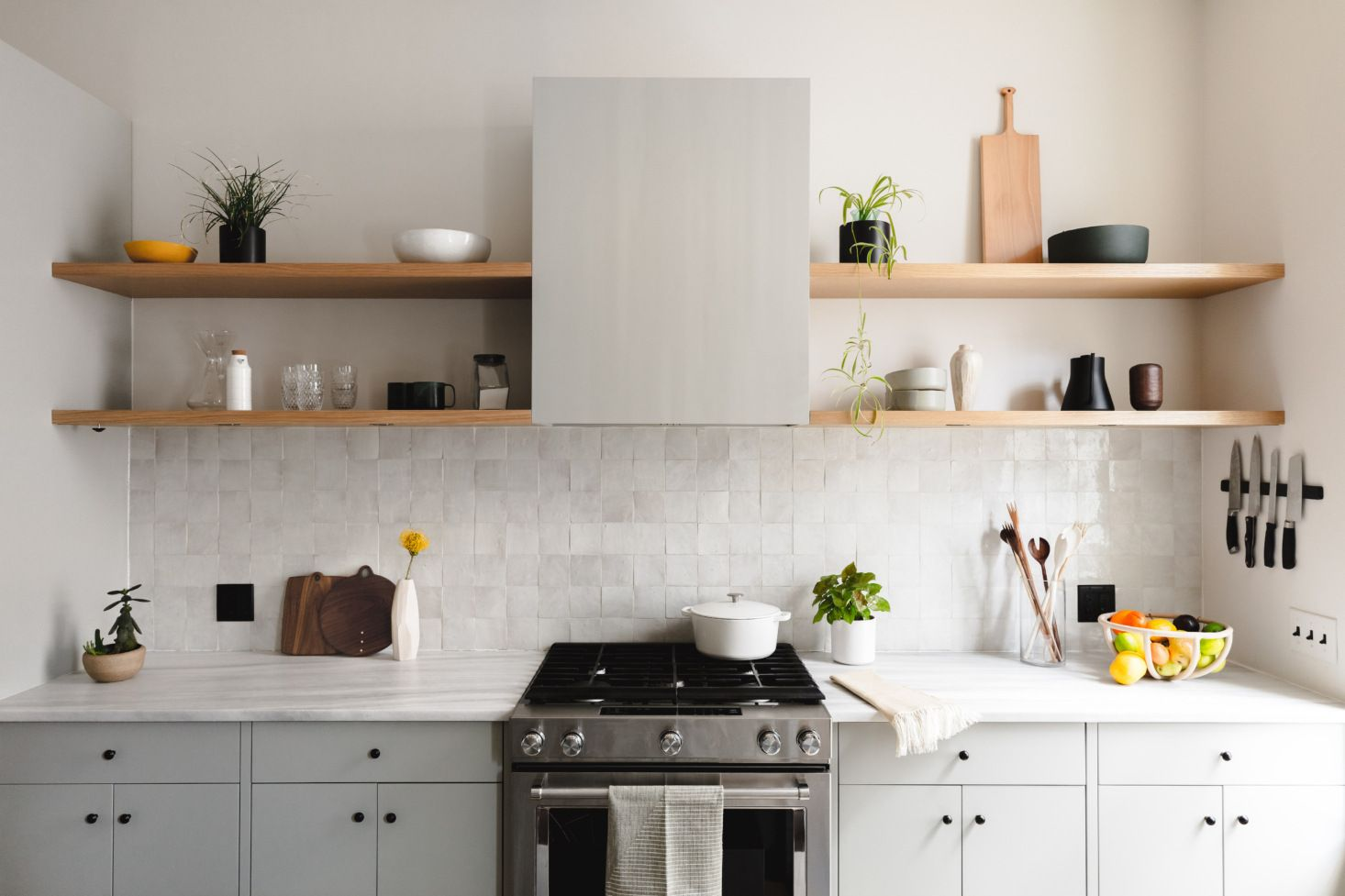 Kitchen of the Week: A Brooklyn Kitchen Designed Around the Keywords Social and Minimal but Warm - Remodelista