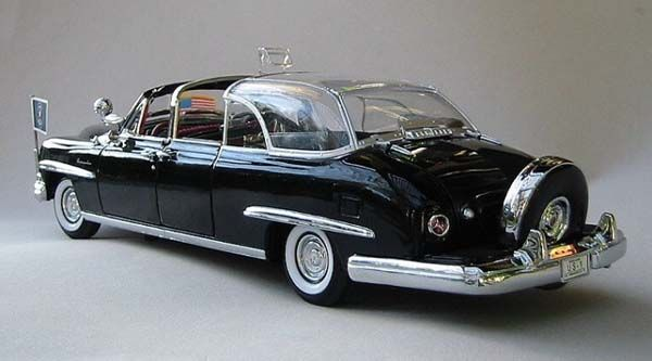 Dwight D Eisenhower S Bubbletop 1950 Lincoln Presidential