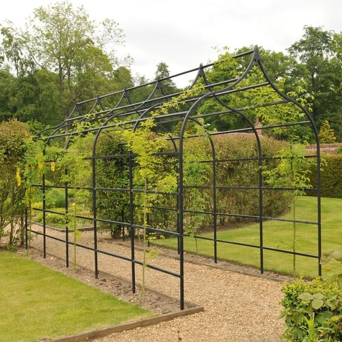 Our Ogee Garden Pergola, based on our popular Ogee Arch, has a distinctive  shape which offers a particularly commanding presence in the garden. - Pin By Kuna Kuna On Idea For My Dacha Pinterest Pergolas, Garden