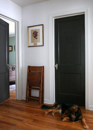 Love Black Interior Doors