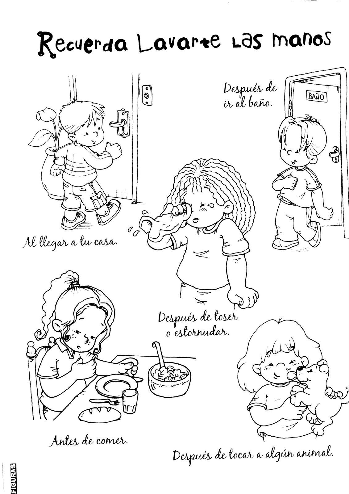 Dibujos Respeto En La Escuela Imagui Kindergarden Homeschool Comics