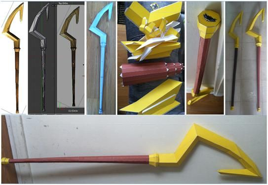 Papercraft Sly Cane By N8s Cosplay Tutorials Pinterest Paper