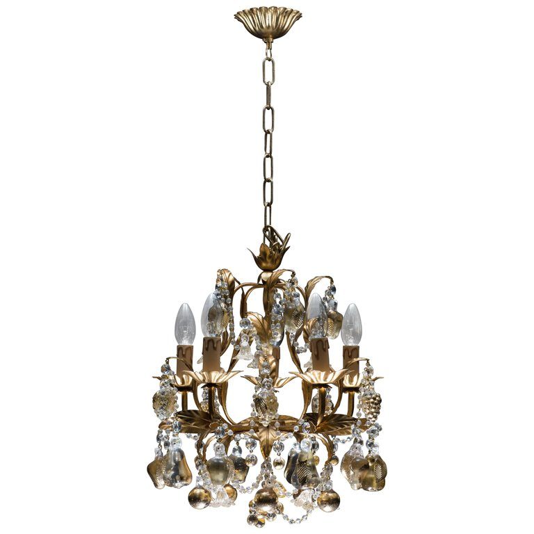 Italian venetian chandelier with 24 karat gold embedded murano glass for sale on 1stdibs 21st century italian venetian chandelier with 24 karat gold embedded murano glass handcrafted in venetia aloadofball