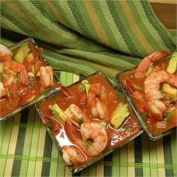 Mexican Shrimp Cocktail - Allrecipes.com #mexicanshrimprecipes