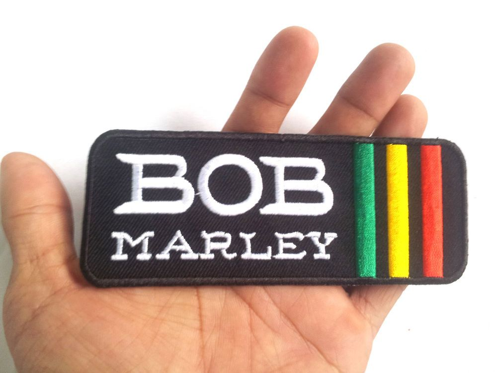 Embroidered Name Tag Patch BOB