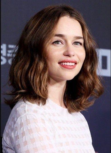 Photo of Emilia Clarke Chin-Length Bob – The UnderCut