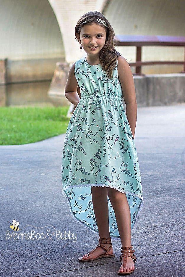 SImple Life Pattern Company Harmony\'s top dress maxi high low pdf ...