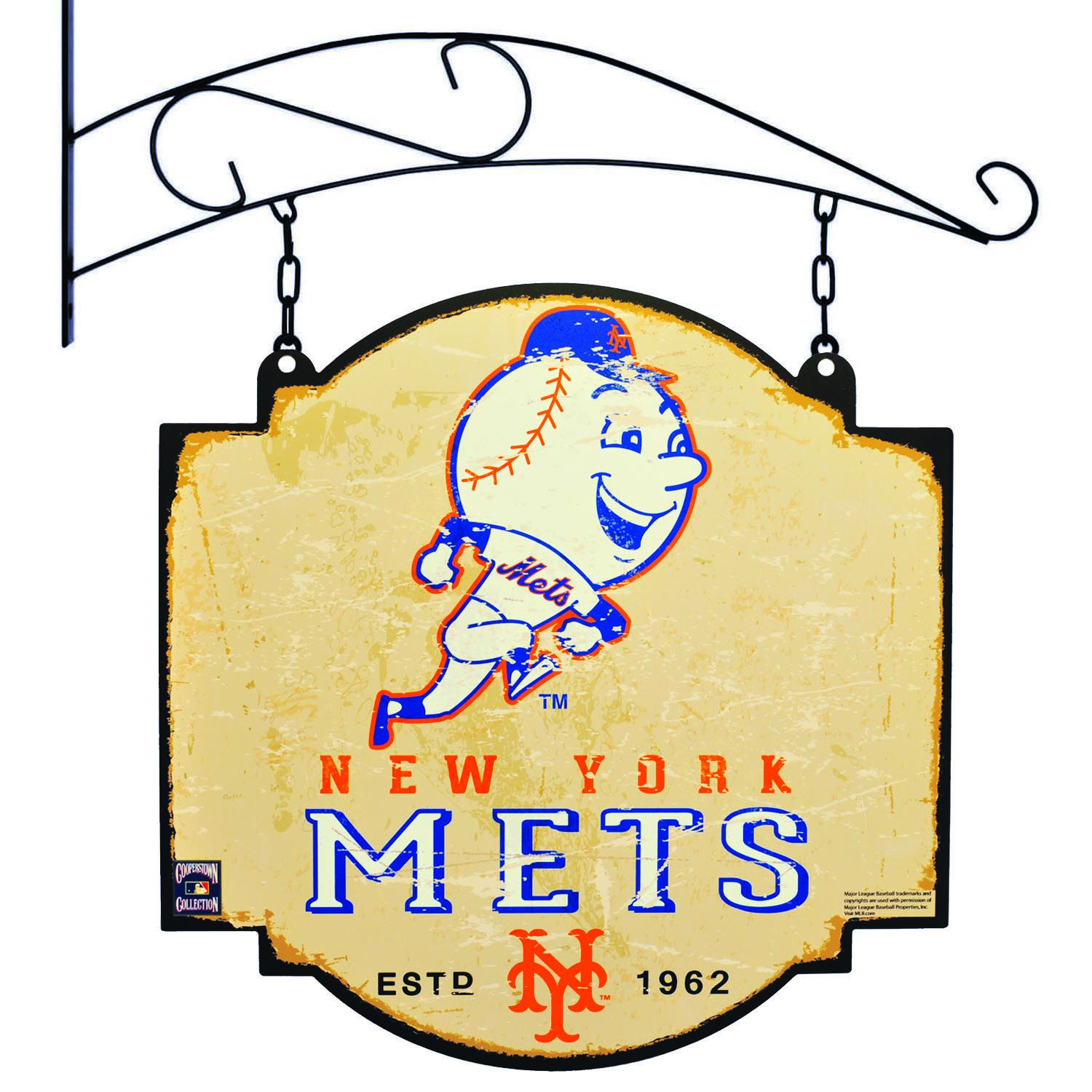 New York Mets Tavern Sign New York Mets New York Mets Logo Mets