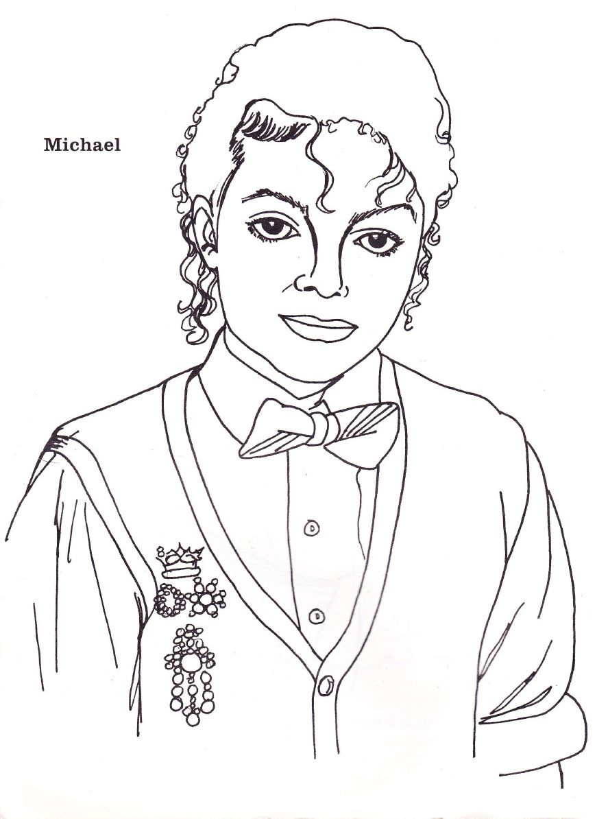 Pin Em Michael Jackson Coloring Book