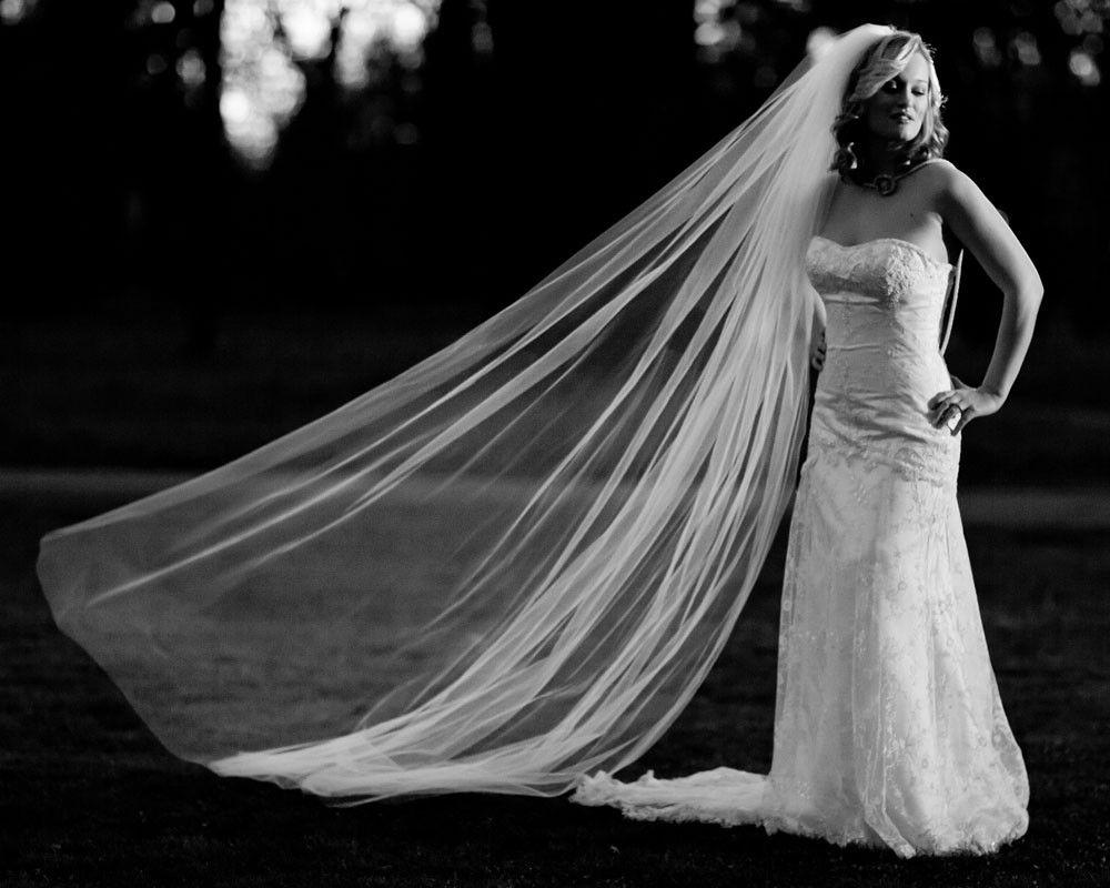 Tered Crystal Veil Cathedral Length Wedding 125 Swarovski Rhinestones 108 Wide Long