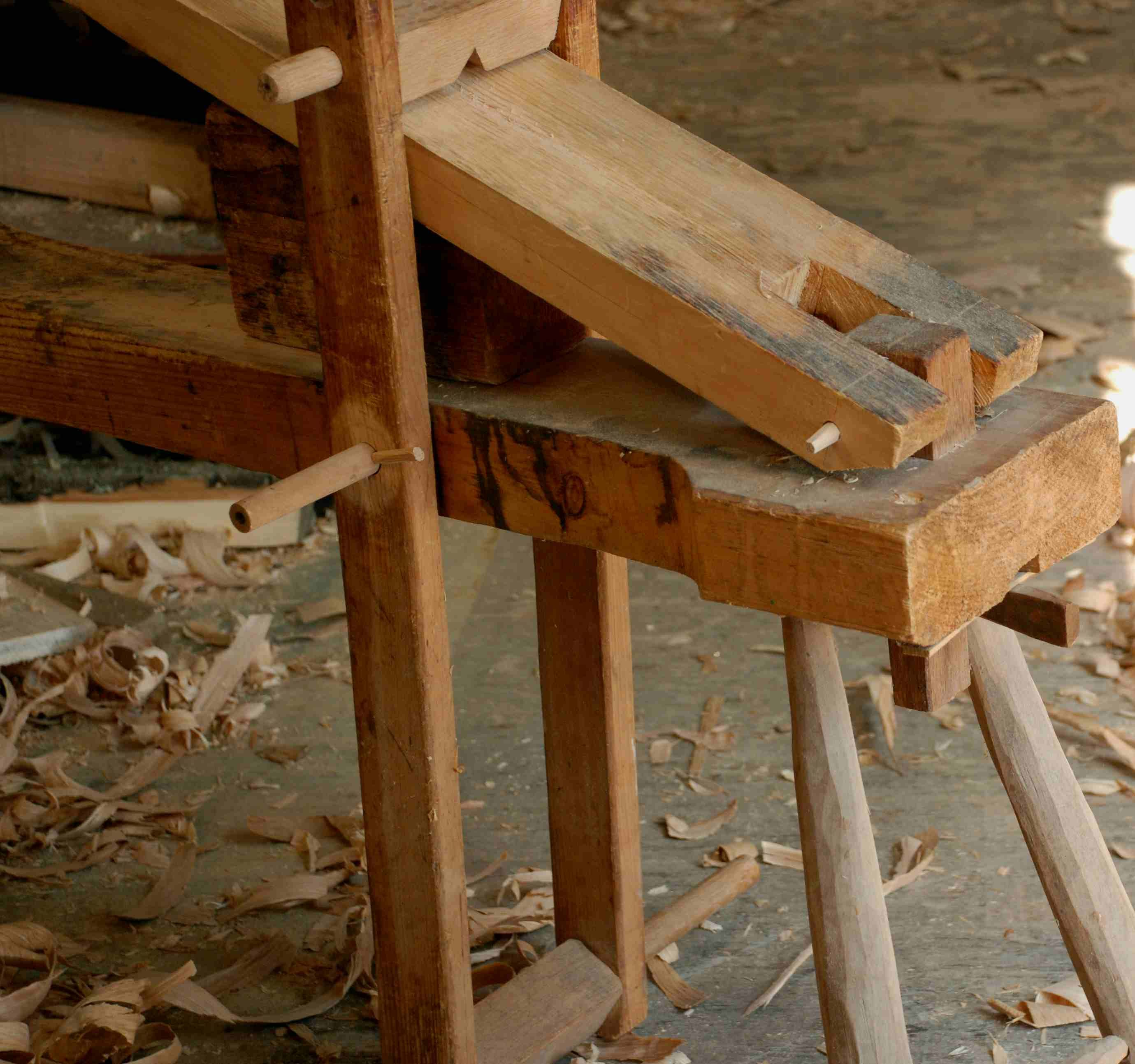 shaving horse bench Google Search Diy wooden projects