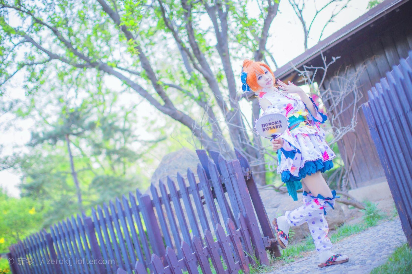 QieLing(茄零) Honoka Kosaka Cosplay Photo - WorldCosplay