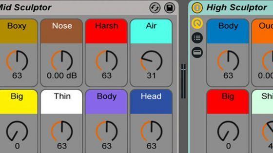 LANDR releases free Tone Sculptor Ableton Live effect racks