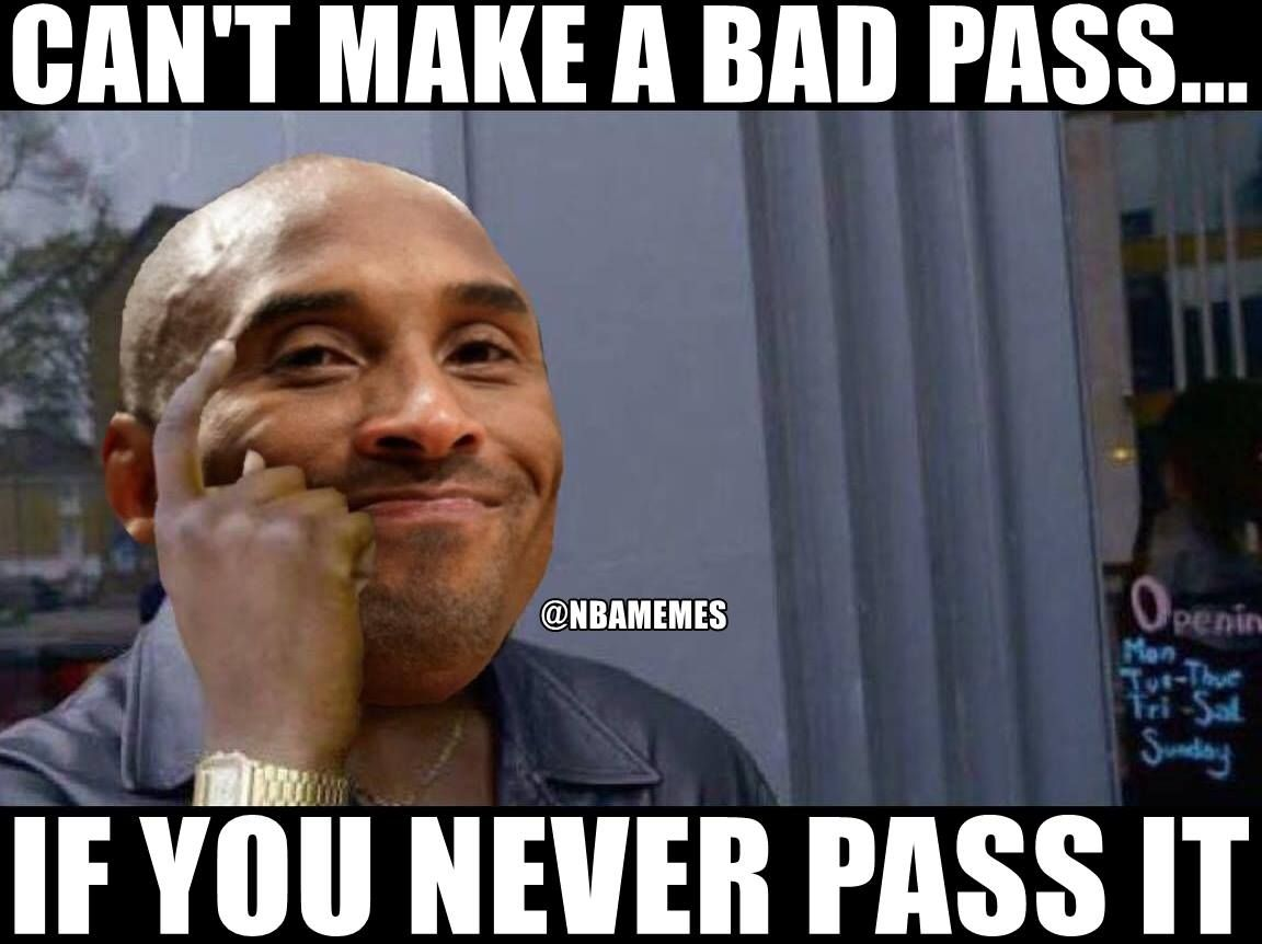 Funny Meme Nba : Rt nbamemes kobe be like nbafunnymeme first board
