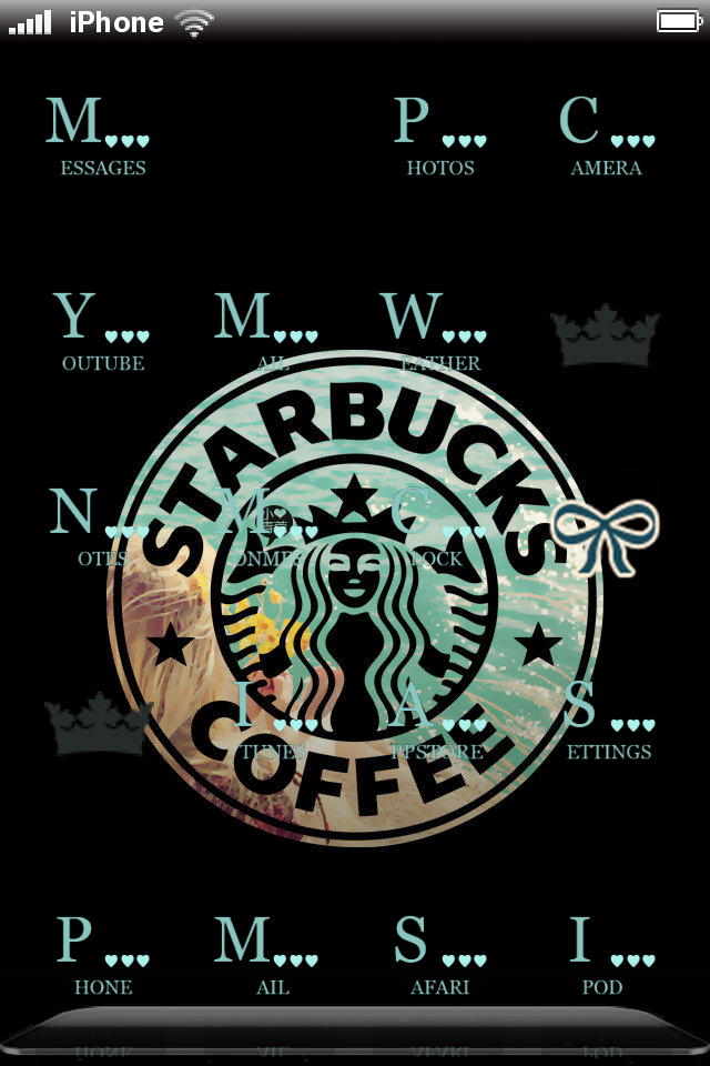 CodeThemed » My Themes Starbucks wallpaper, Iphone