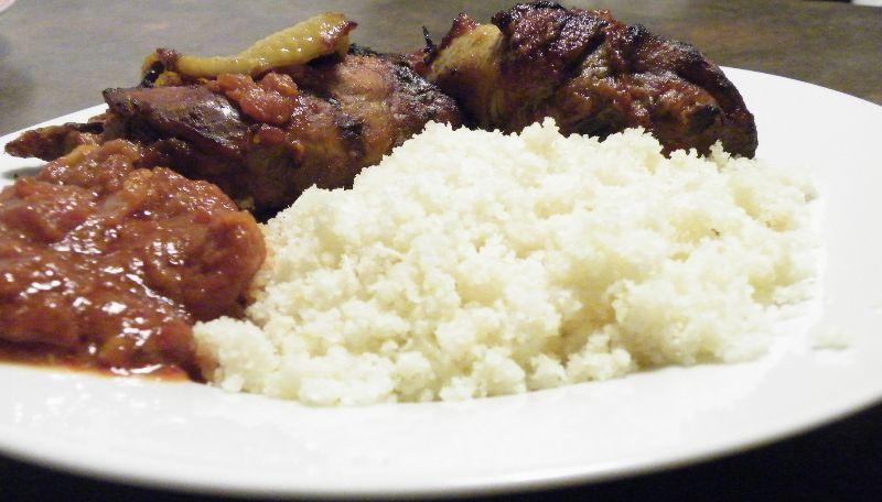 Poulet brais et ati k cuisine africaine pinterest for Africaine cuisine