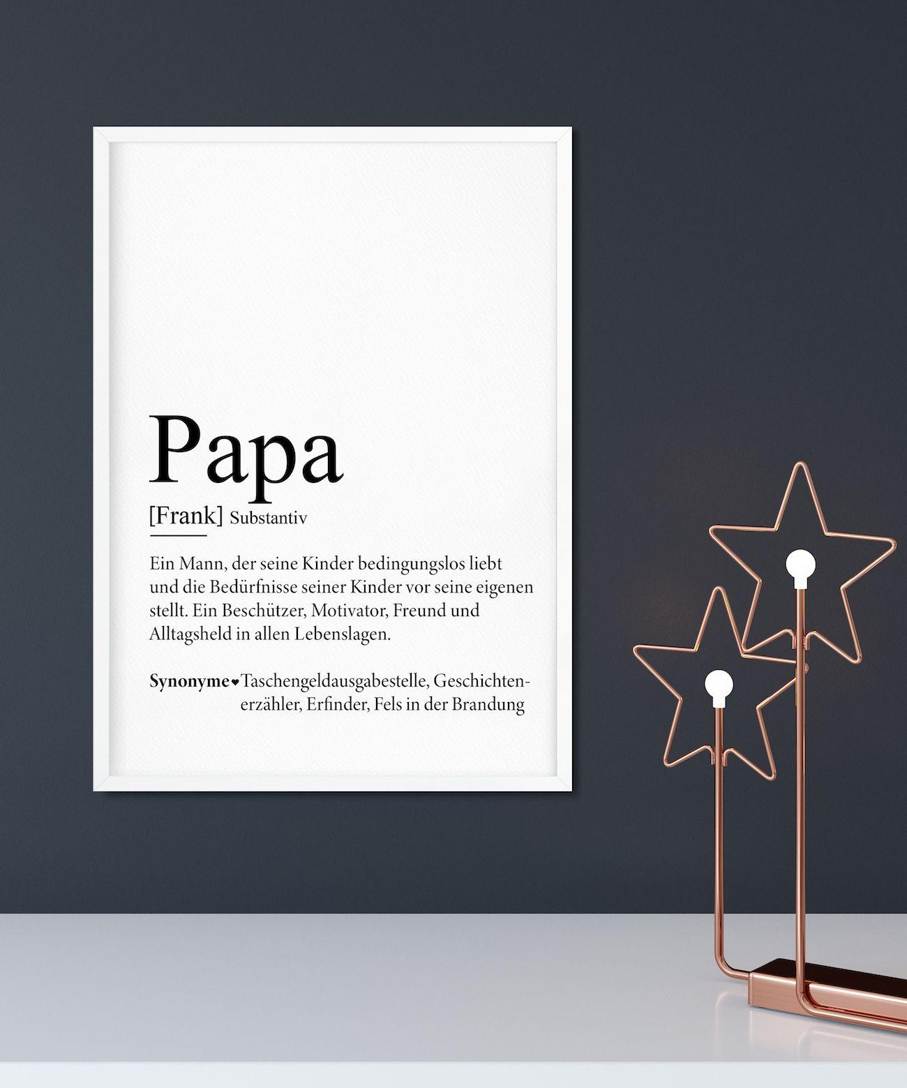 papa definition bild weihnachten