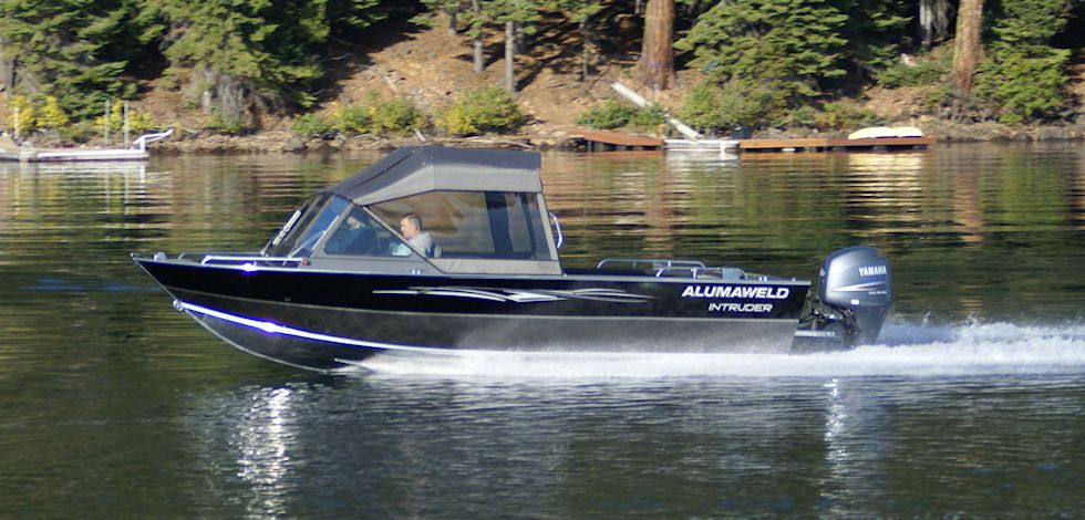 Alumaweld premium all welded aluminum fishing boats for for Best aluminum fishing boats