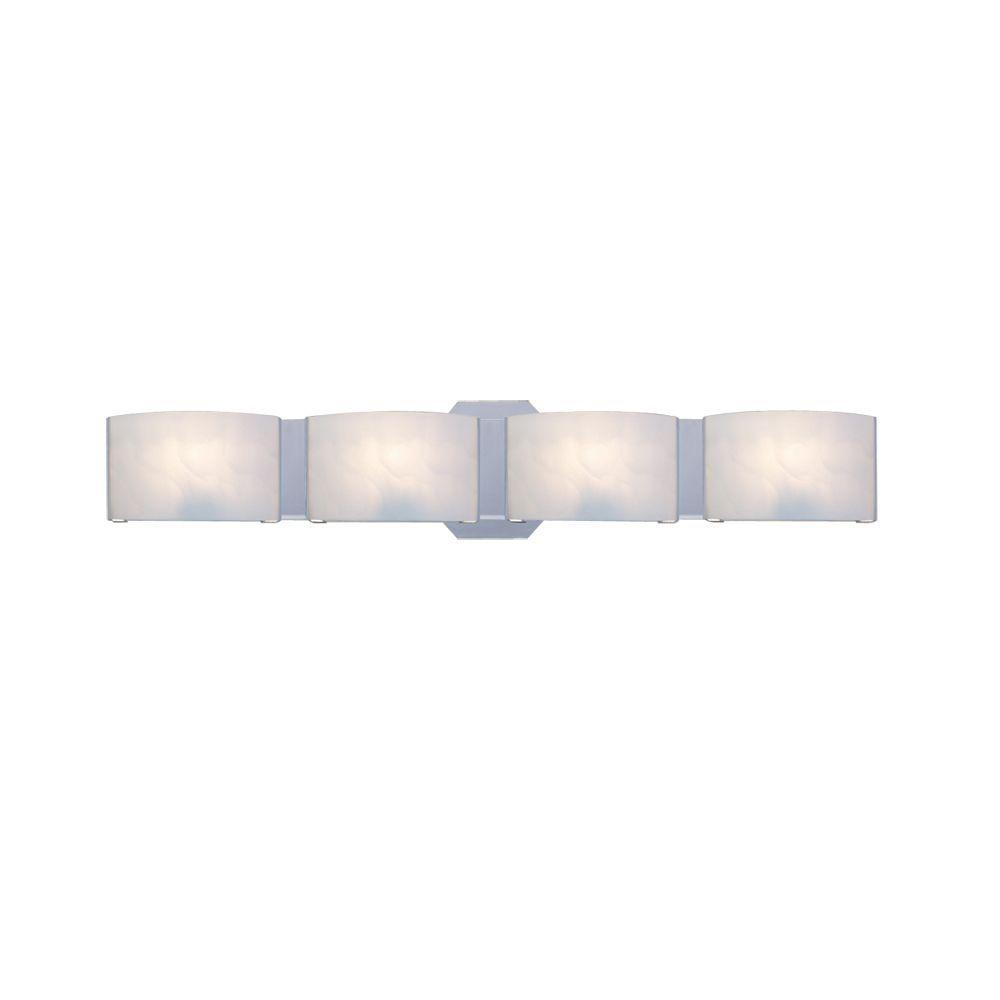 Dakota Collection 4 Light Chrome Bathbar | HOME DECOR | Pinterest ...
