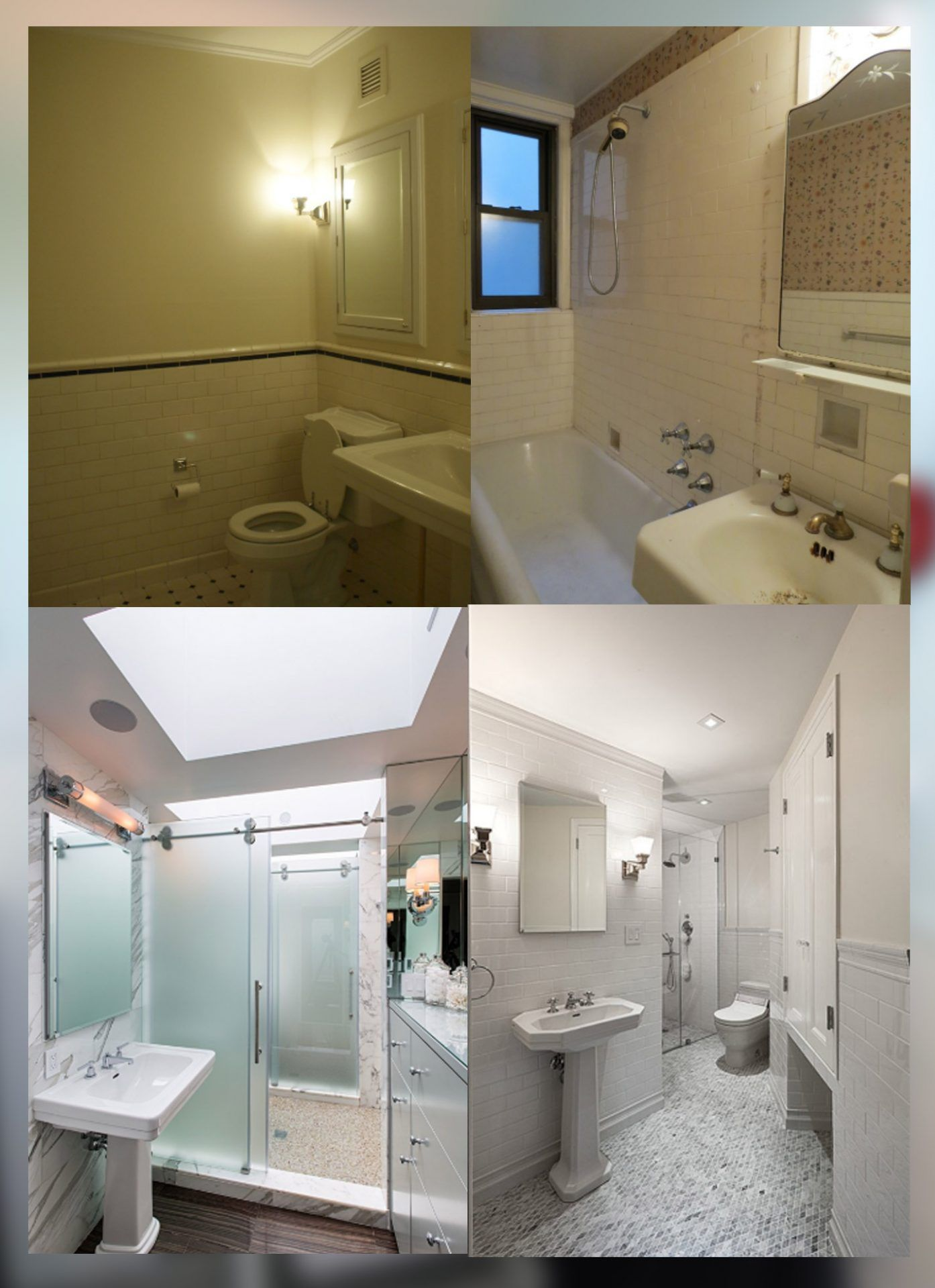 Tiny Bathroom Remodel Before And After In 2020 Bathrooms Remodel Bathroom Remodel Photos Tiny Bathroom