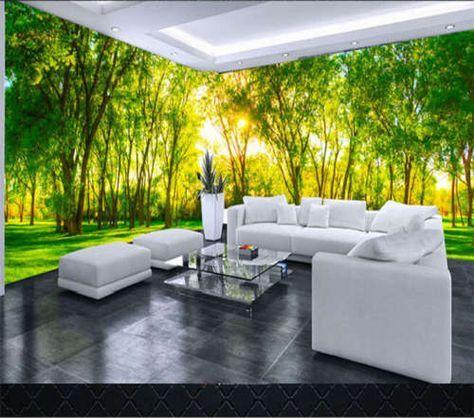 Strong Sunshine 3D Full Wall Mural Photo Wallpaper Printing Home ...