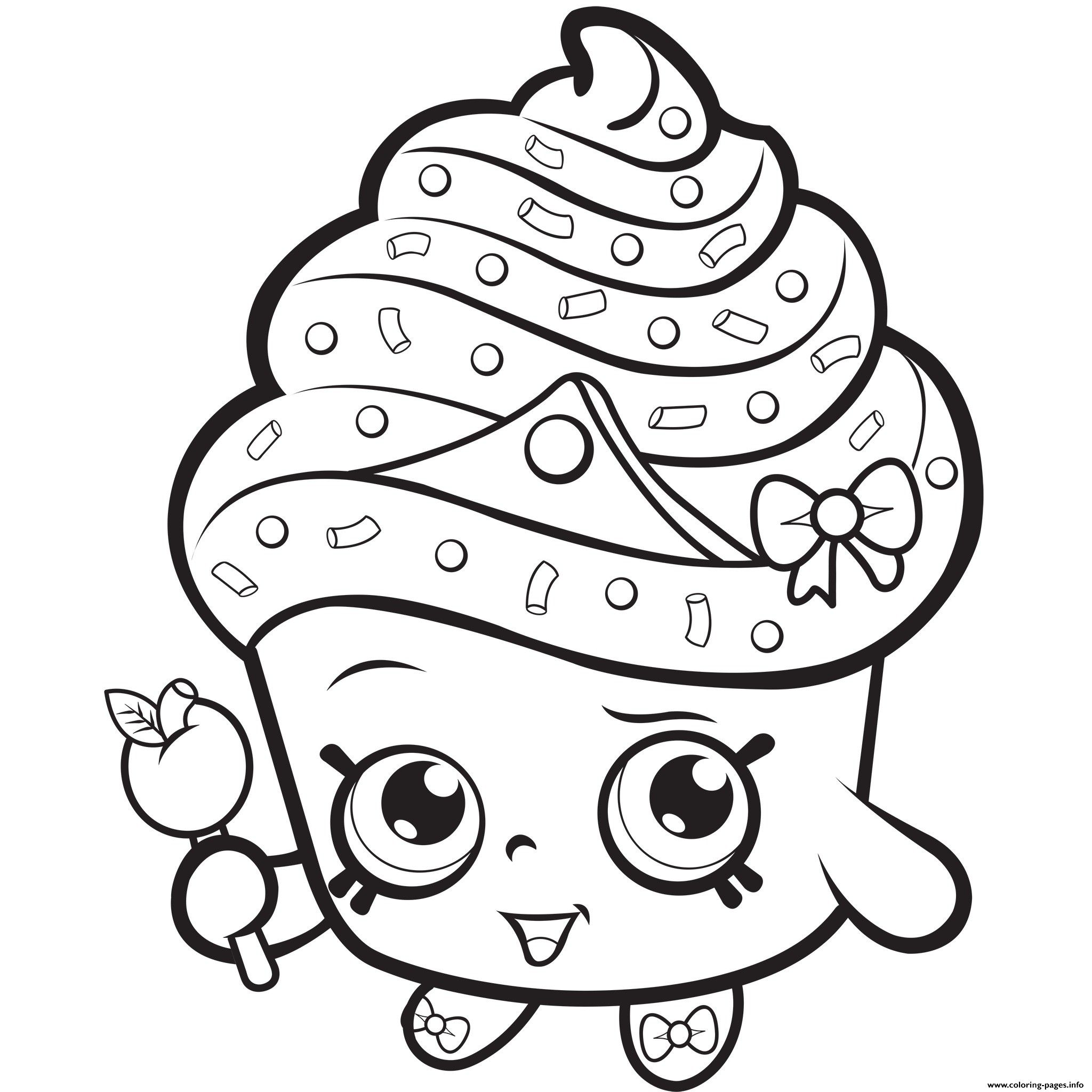 Princess Shopkins Coloring Pages – From the thousand photographs on the  internet about … | Cupcake coloring pages, Princess coloring pages, Shopkins  colouring pages