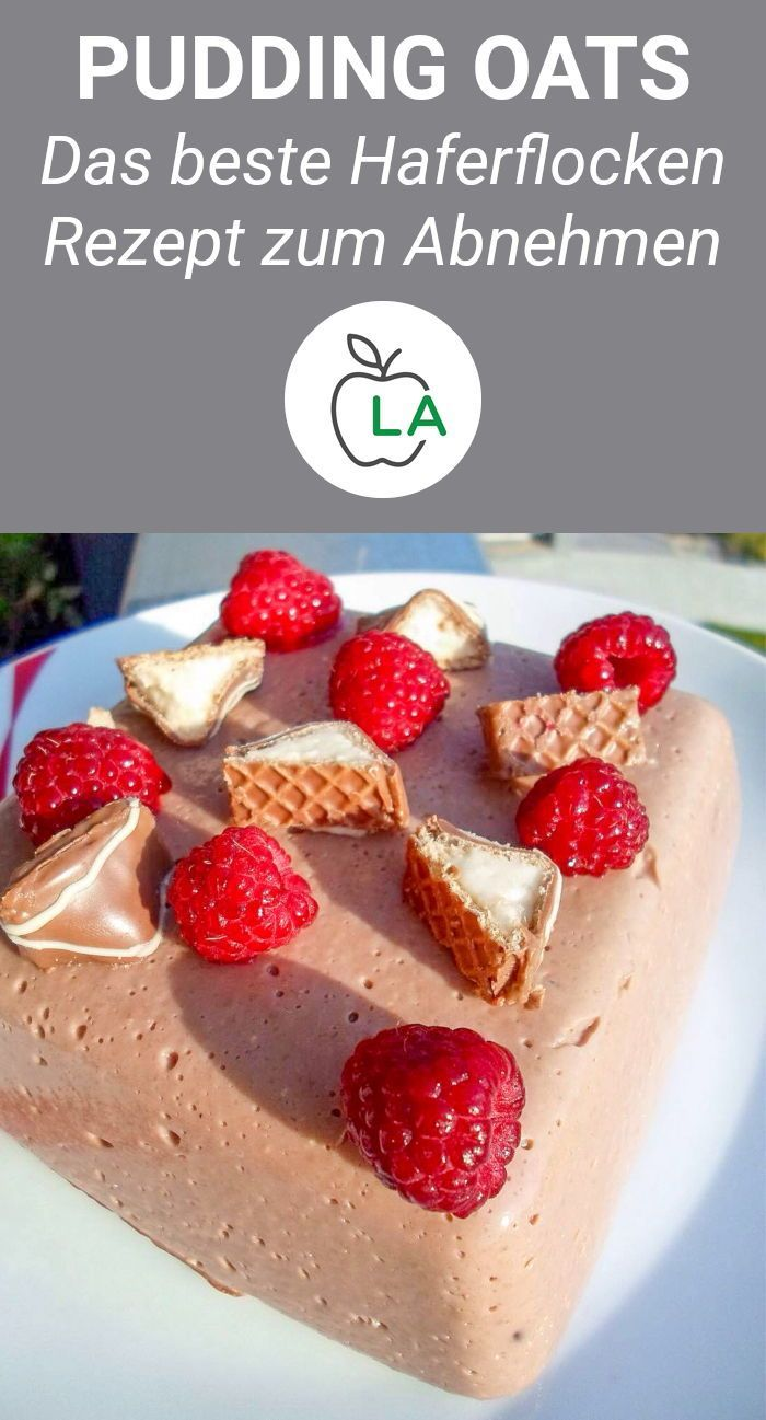 Pudding Hafer Rezept - kalorienarm und reich an Eiweiß   - Fitness Rezepte -