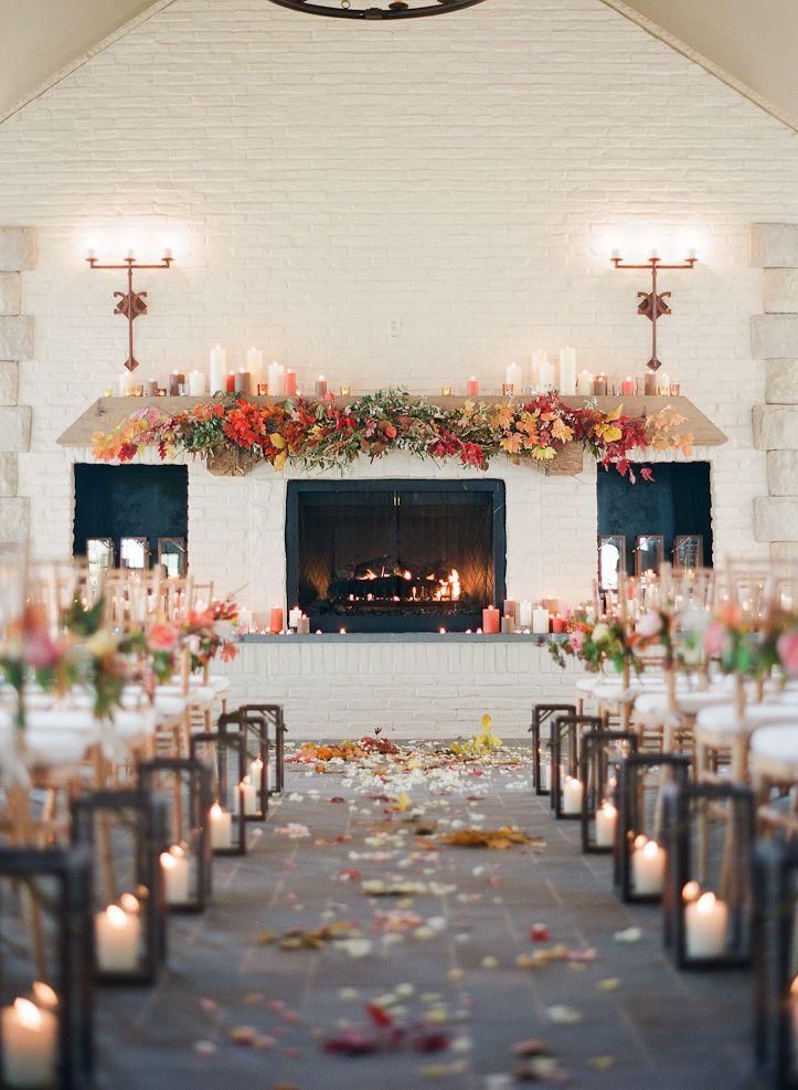 Fall Wedding Ideas Once Wed Wedding Aisle Decorations Fall Ceremony Fall Wedding Decorations