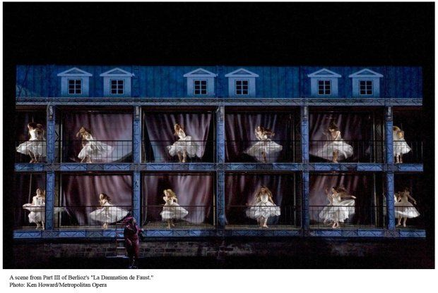 Robert Lepage S La Damnation De Faust Opera In The Age Of Windows Scenic Design Scene Design Stage Design