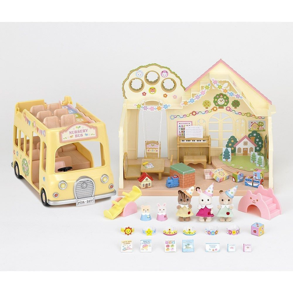 Calico Critters Baby Castle Nursery Calico Critters Families Calico Critters Furniture Sylvanian Families