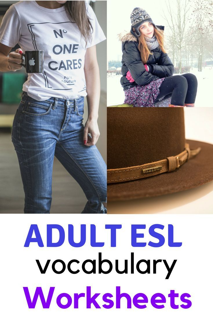 Clothing Vocabulary For Esl Adults Worksheets Worksheets And Students