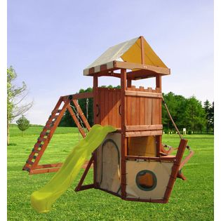Fit N Fun Pegasus Wood Playset Toys Games Outdoor Play Playsets Accessories Kids Indoor Playground Landscaping
