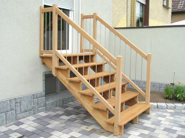 Garten Out-Fit Holzverarbeitung - Treppen