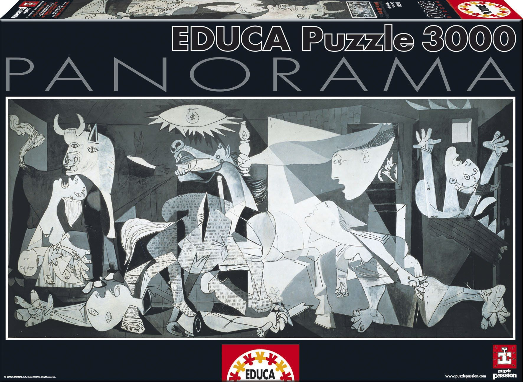 Guernica Pablo Picasso Panoramic Puzzle 3000 Pieces