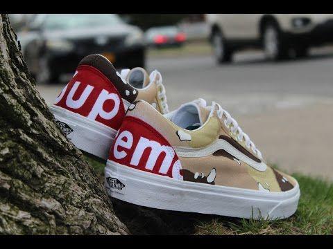 1c574e6cde1 Custom Bape Shark Teeth Vans