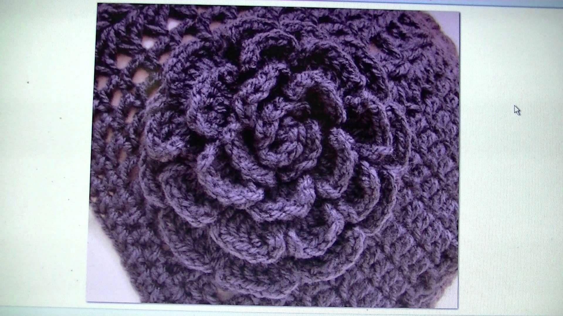 Easy crochet rose free written pattern happy hookers easy crochet rose free written pattern bankloansurffo Gallery
