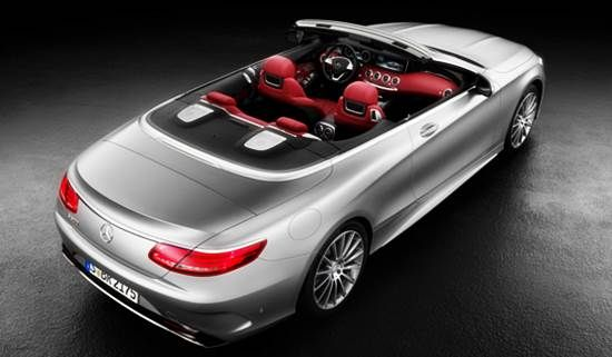 2017 Mercedes Benz S Class Cabriolet Concept Price In India