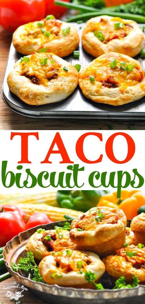 5-Ingredient Taco Biscuit Cups