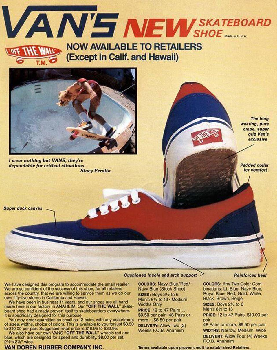 Surf Shoes Vintage Vans Vintage Skateboards Vans Skateboard