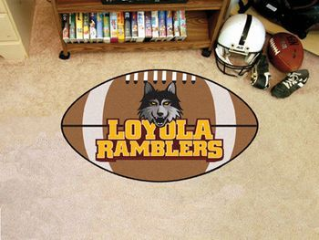"Loyola University Chicago Football Mat 20.5"""" X 32.5"""""