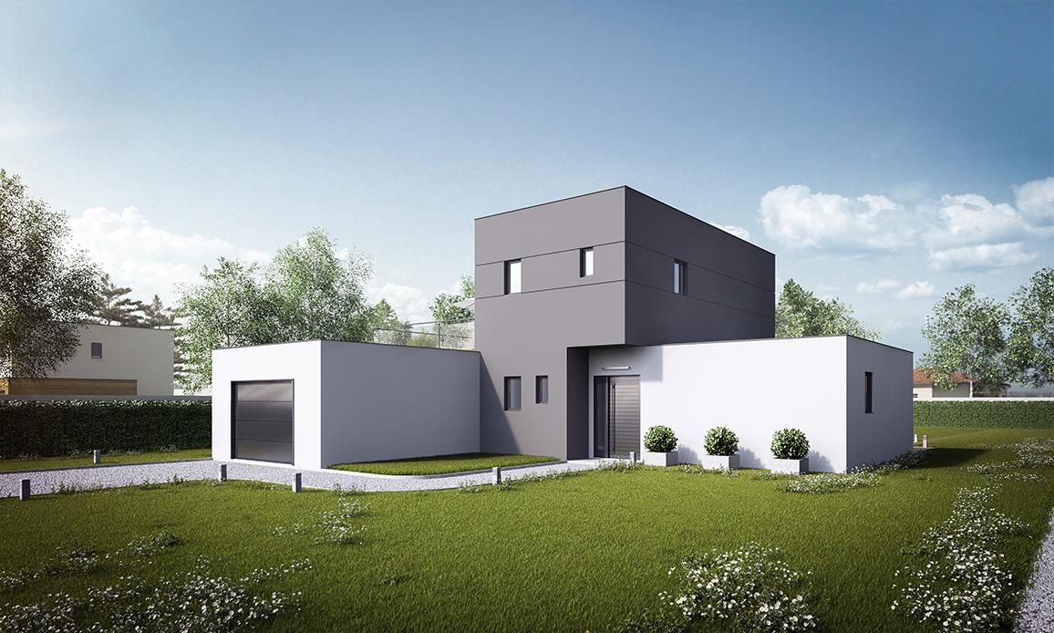 Faire construire une maison contemporaine m tre carr for Maison contemporaine architecte