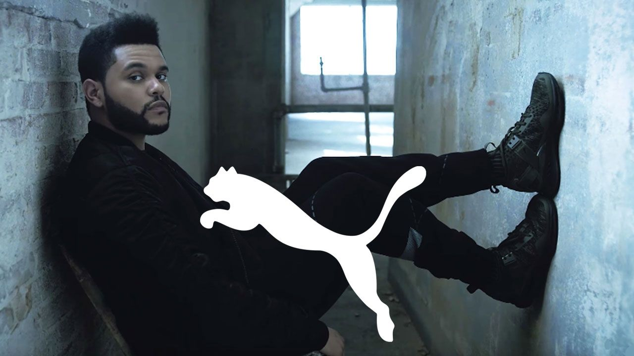 the weeknd puma shoes starboy tour photos of anthem