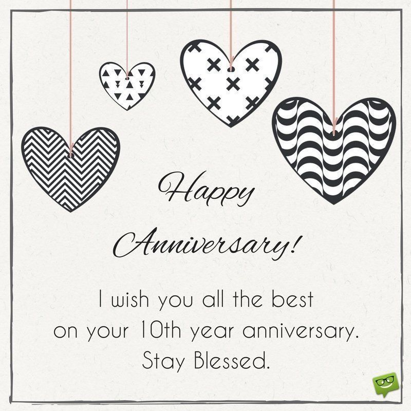 Anniversary Card Ideas Anniversary Cards For Couple Happy 10 Year Anniversary Anniversary Wishes For Couple