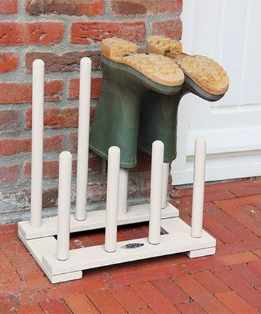 Take a look at this Cream Boot Rack by Fallen Fruits on #zulily