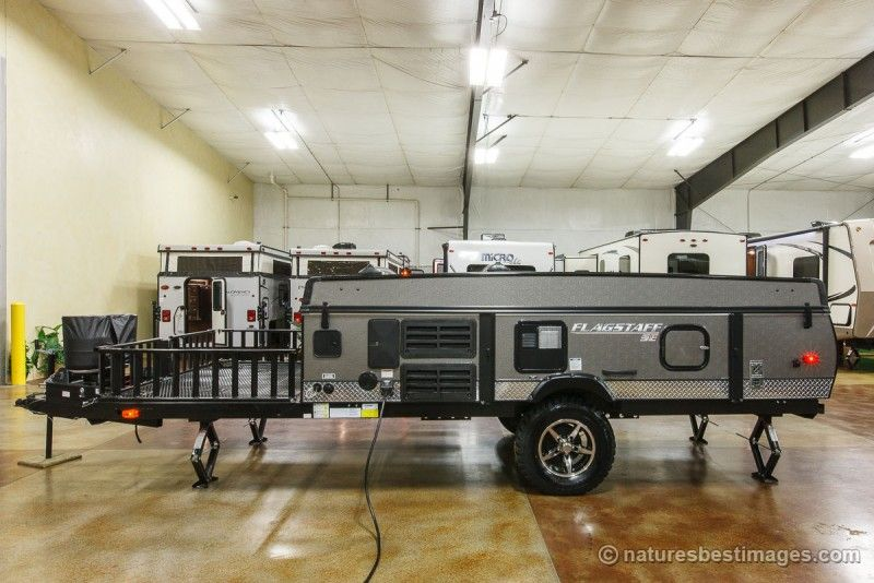 Flagstaff 23scse Pop Up Toy Hauler Cheyenne Camping Center Toy