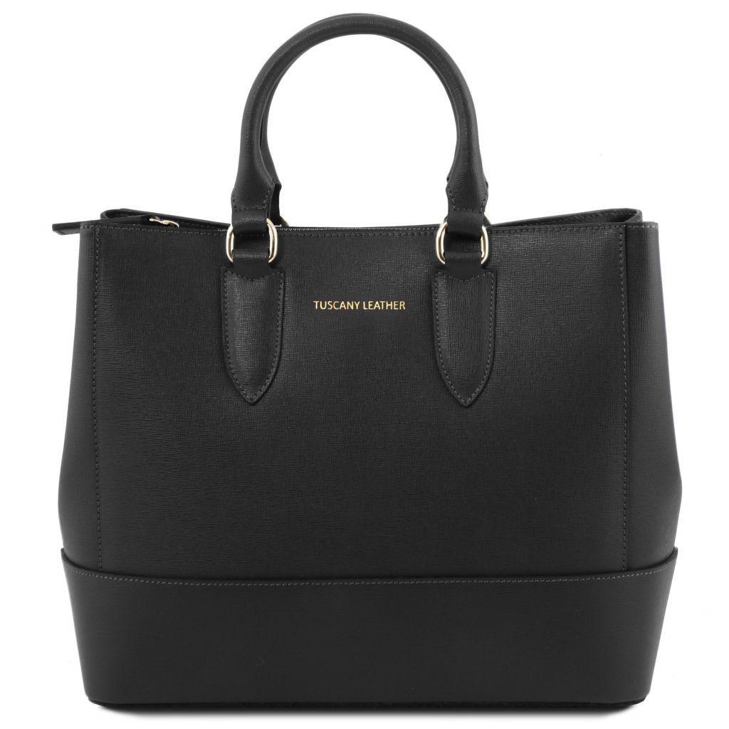 TL BAG TL141177 Saffiano leather handbag - Borsa a mano in