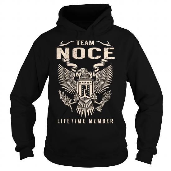 I Love Team NOCE Lifetime Member - Last Name, Surname T-Shirt T shirts